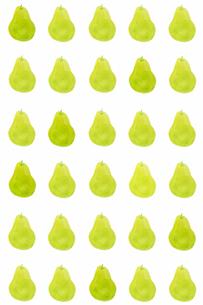 洋梨のパターンのイラスト素材 [FYI01597542]