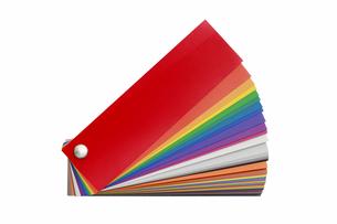 カラーチャートの写真素材 [FYI01597777]