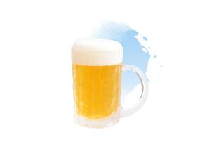 ビールジョッキのイラスト素材 [FYI01598084]