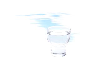 お猪口のイラスト素材 [FYI01598192]