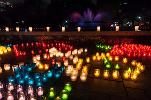 日比谷公園キャンドルライトアップの写真素材 [FYI01599772]