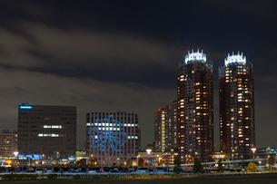 お台場,夜景の写真素材 [FYI01599937]
