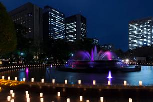 日比谷公園キャンドルライトアップの写真素材 [FYI01600153]