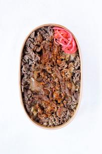 牛丼弁当の写真素材 [FYI01600801]