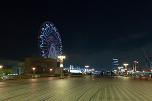 お台場パレットタウン,夜景の写真素材 [FYI01600932]