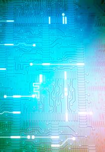 マイクロチップとITのイメージの写真素材 [FYI01601012]