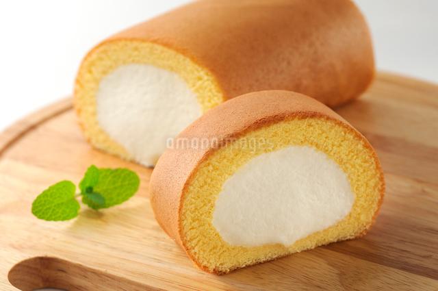 ロールケーキの写真素材 [FYI01601047]