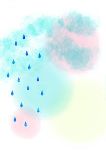 雨のイラスト素材 [FYI01601074]