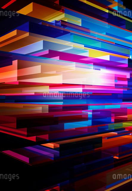 カラフルな3Dイメージの写真素材 [FYI01601100]