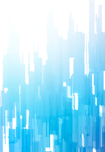 青い柱のあるアブストラクトの写真素材 [FYI01601189]