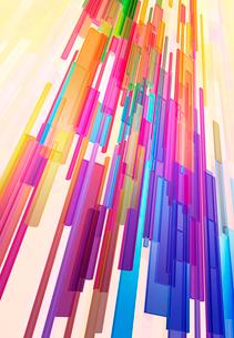 カラフルな3Dイメージの写真素材 [FYI01601201]