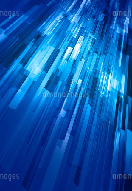 青い3Dイメージの写真素材 [FYI01601288]