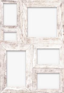 白木の組フレームの写真素材 [FYI01601353]