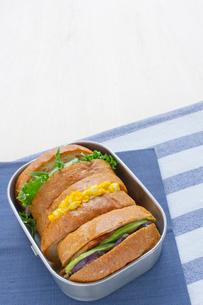 サンドイッチ弁当の写真素材 [FYI01601367]