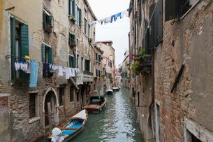 ヴェネツィアの町並みの写真素材 [FYI01601510]