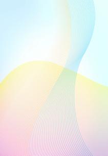 波線のアブストラクトの写真素材 [FYI01601538]