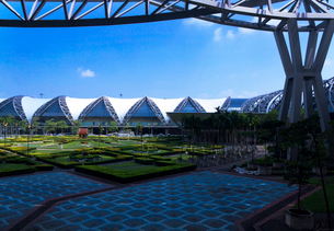スワンナプーム国際空港の写真素材 [FYI01601547]