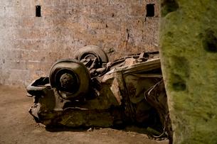 ナポリの地下古代都市の写真素材 [FYI01601635]