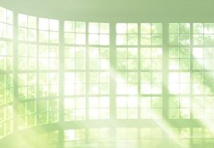 窓から差し込む光のイメージの写真素材 [FYI01601643]