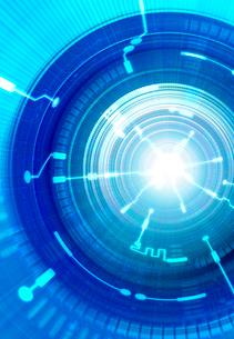 トンネルと光の回路のイラスト素材 [FYI01601781]
