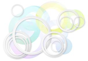 円の波紋イメージの写真素材 [FYI01601854]
