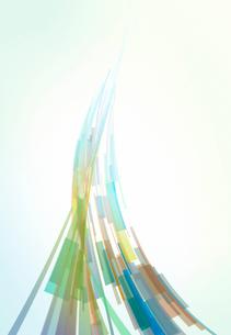 伸び上がる色彩のイメージの写真素材 [FYI01601860]
