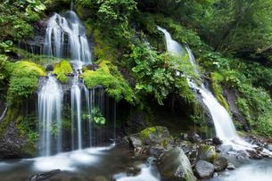 清里高原の吐竜の滝の写真素材 [FYI01602033]
