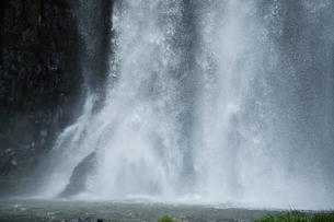 桜滝の写真素材 [FYI01602128]
