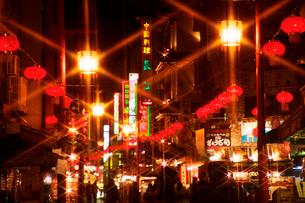 神戸南京町ランターンフェアの写真素材 [FYI01602741]