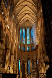 ケルン大聖堂内部の写真素材 [FYI01602778]