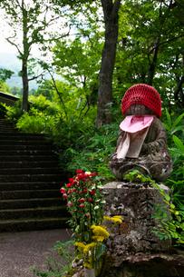 大山寺の地蔵の写真素材 [FYI01602836]