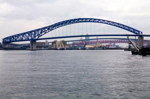 大正内港と千歳橋の写真素材 [FYI01603237]