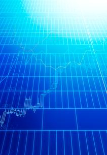 線グラフと株価チャートの写真素材 [FYI01603265]
