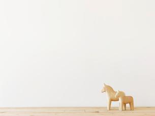 馬のおきものの写真素材 [FYI01603291]
