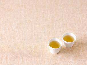 2つならんだお茶の写真素材 [FYI01603352]