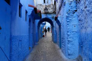 モロッコ シャウエンの写真素材 [FYI01603443]