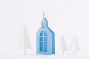 教会ともみの木の写真素材 [FYI01603508]