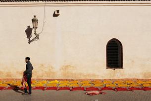 モロッコ マラケシュの旧市街の写真素材 [FYI01603540]