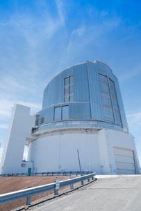 ハワイ島マウナケア山頂のすばる望遠鏡の写真素材 [FYI01603562]