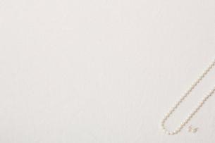 パールのネックレスの写真素材 [FYI01603632]
