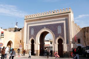 モロッコ フェズの写真素材 [FYI01603642]