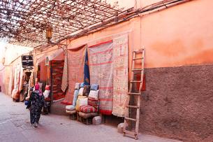 モロッコ カサブランカの旧市街の写真素材 [FYI01603650]