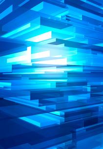 青い3Dイメージの写真素材 [FYI01603699]