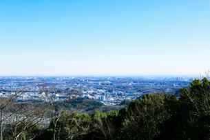 八王子から東京の眺めの写真素材 [FYI01603742]