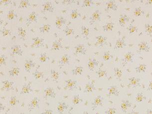 黄色の花柄の布の写真素材 [FYI01603773]