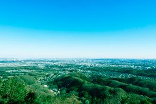 八王子から東京の眺めの写真素材 [FYI01603796]