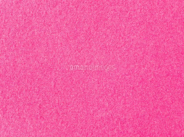 ピンクのウールの布の写真素材 [FYI01603824]