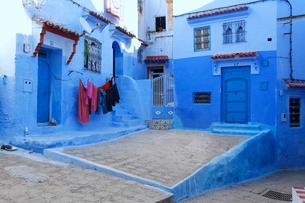 モロッコ シャウエンの写真素材 [FYI01603829]