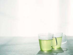 緑茶の写真素材 [FYI01603850]