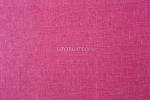 ピンクの麻の布の写真素材 [FYI01603894]